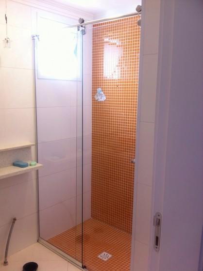 Box Elegance de Vidro Espelhado Onde Comprar em Santo André - Box Elegance para Banheiro
