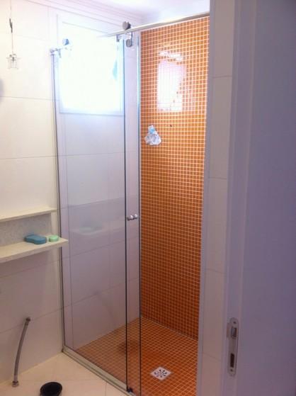 Box Elegance para Banheiro Onde Comprar em Santo André - Box Vidro Temperado Elegance