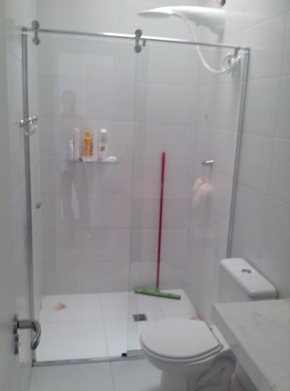 Boxes Elegance para Banheiros em São Caetano do Sul - Box Elegance Espelhado