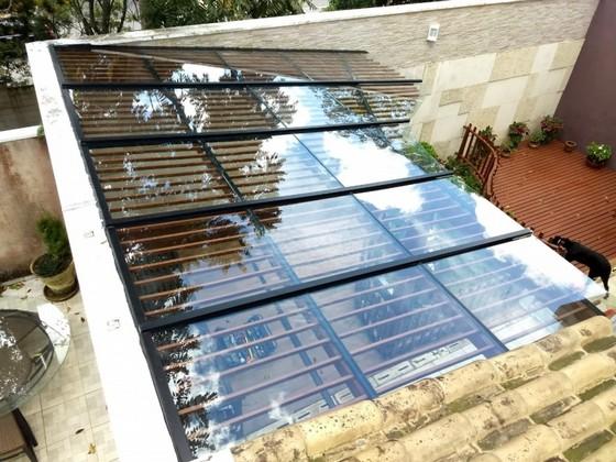 Cobertura de Vidro Automatizada Valor Jabaquara - Cobertura de Vidro Retrátil