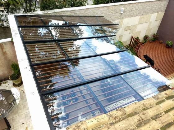 Cobertura de Vidro Quintal Valor Santo André - Cobertura de Vidro área Externa