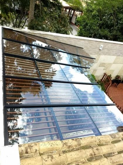 Cobertura de Vidro Temperado Valor São Caetano do Sul - Cobertura de Vidro com Abertura