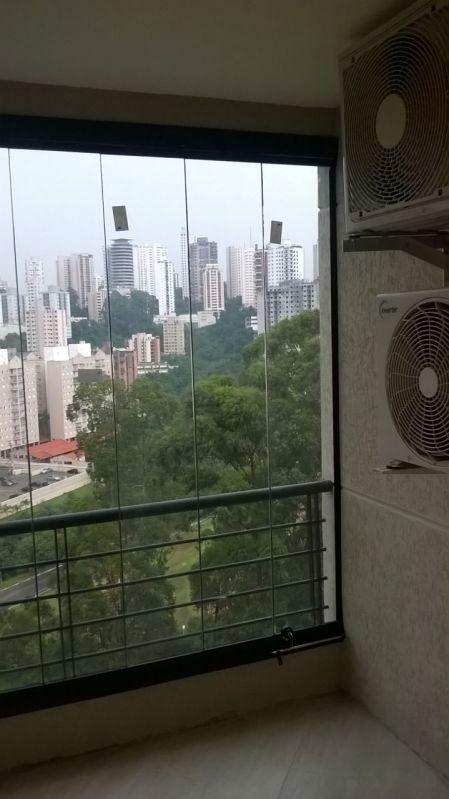 Cortina de Vidro Laminado para Varanda em São Caetano do Sul - Envidraçamento de Sacadas