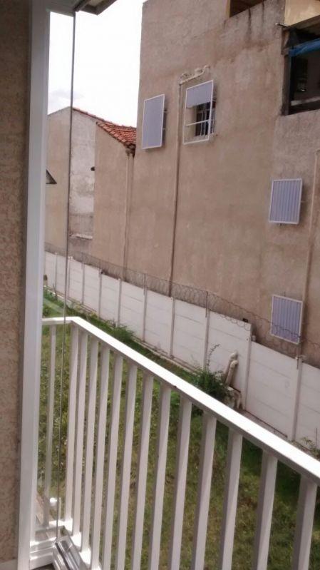 Cortina de Vidro Laminado em São Caetano do Sul - Envidraçamento de Sacadas