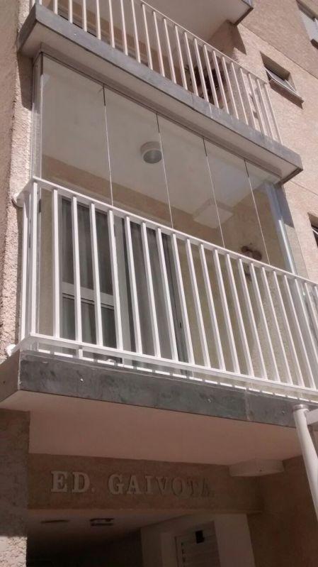 Cortina de Vidro Temperado Preço em Santo André - Envidraçamento de Varandas