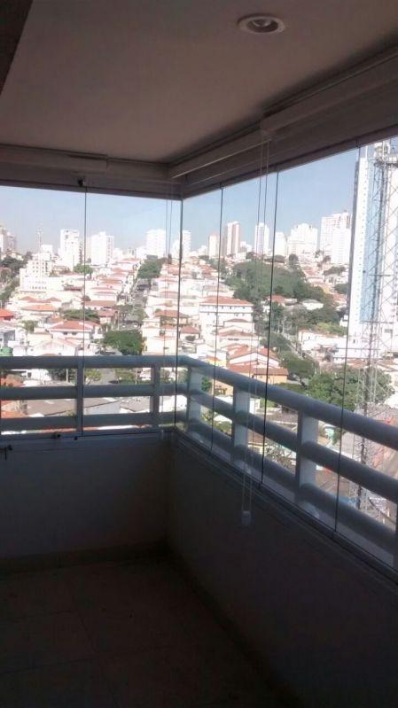 Envidraçamento Articulado Preço em São Bernardo do Campo - Fechamento de Sacadas com Vidro