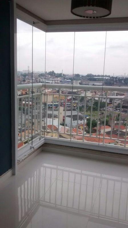 Envidraçamento Articulado em São Bernardo do Campo - Envidraçamento de Sacadas