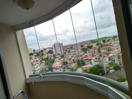 Envidraçamento de Sacada de Apartamento Pequeno Vila Nova Conceição - Envidraçamento de Sacada Pequena