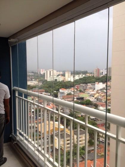Envidraçamento de Sacadas para Apartamento Vila Mariana - Envidraçamento de Sacada Pequena