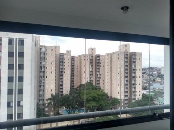 Fechamento de Varanda com Vidro de Correr de Apartamento Orçamento Diadema - Fechamento de Varanda com Vidro para Apartamento