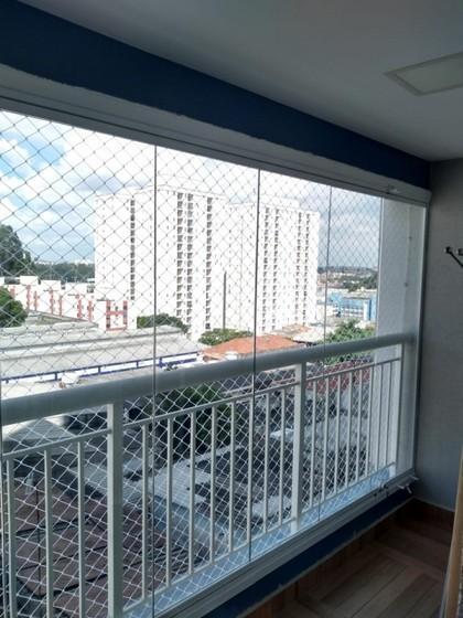 Fechamento de Varanda com Vidro de Correr de Apartamento Itaim - Fechamento de Varanda com Vidro para Apartamento