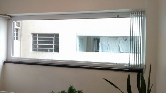Fechamento de Varanda com Vidro de Correr Itaim - Fechamento de Varanda com Vidro de Correr de Apartamento