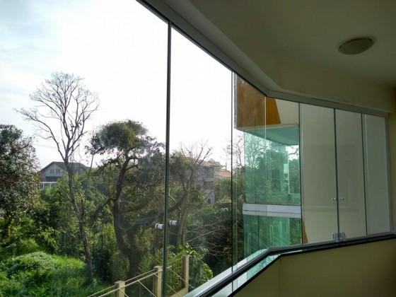 Fechamento de Varanda com Vidro Residencial Moema - Fechamento de Varanda com Vidro Temperado para Apartamento