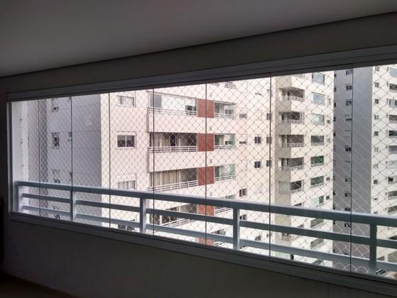 Fechamento de Varanda com Vidro Temperado para Apartamento Orçamento Vila Nova Conceição - Fechamento de Varanda com Vidro Residencial