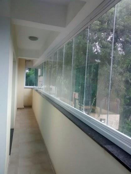 Fechamento de Varandas com Vidro de Correr para Casa Saúde - Fechamento de Varanda com Vidro para Apartamento