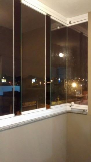 Fechamento de Varandas com Vidro Retrátil em Santo André - Fechamento de Varandas com Vidro