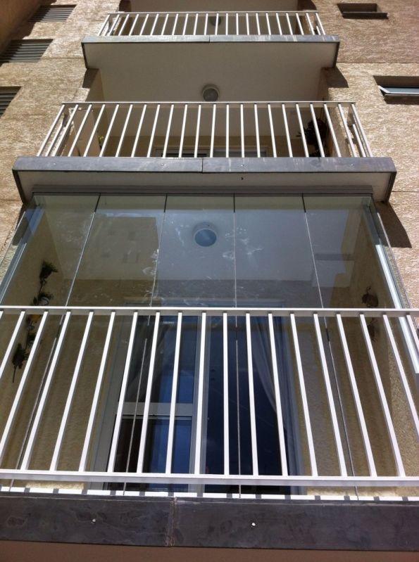 Fechamento de Vidro Retrátil em Santo André - Envidraçamento de Varandas