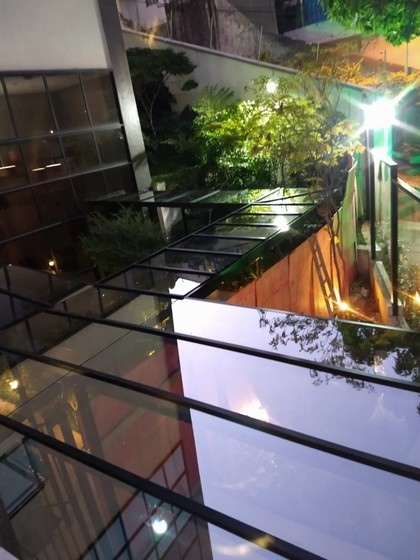 Instalação de Cobertura de Vidro área Externa Vila Nova Conceição - Cobertura de Vidro para Garagem