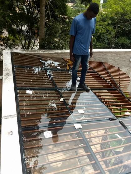 Instalação de Cobertura de Vidro Garagem Diadema - Cobertura de Vidro Temperado