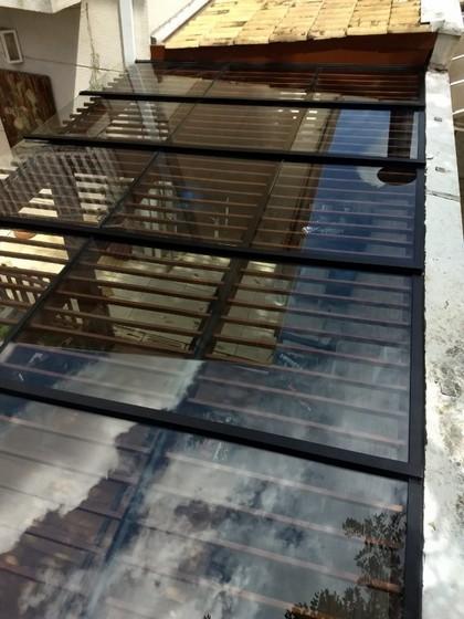 Instalação de Cobertura de Vidro Quintal Saúde - Cobertura de Vidro para Garagem