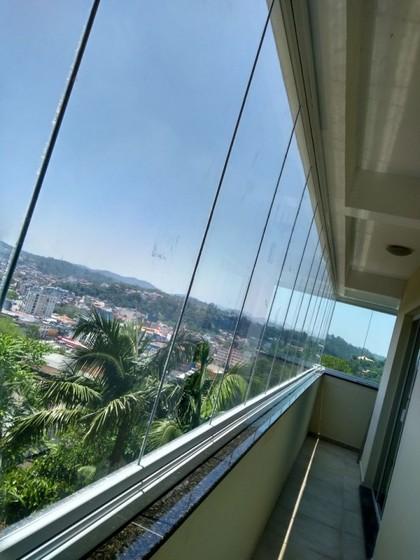 Onde Fazer Fechamento de Varanda com Vidro Residencial São Bernardo do Campo - Fechamento de Varanda com Vidro de Correr de Apartamento