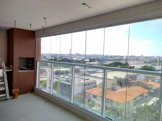 Onde Fazer Fechamento de Varanda com Vidro Temperado para Apartamento Itaim - Fechamento de Varanda com Vidro Residencial