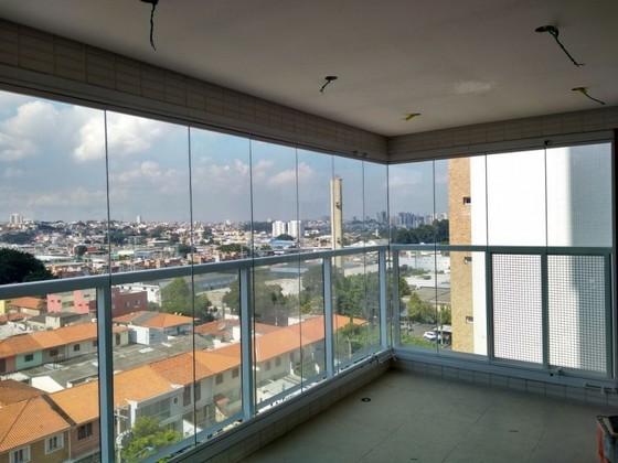 Onde Fazer Fechamento de Varanda com Vidro Temperado Diadema - Fechamento de Varanda com Vidro Temperado para Apartamento