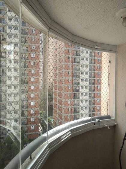 Orçamento para Envidraçamento de Sacada Apartamento Vila Nova Conceição - Envidraçamento de Sacada Pequena