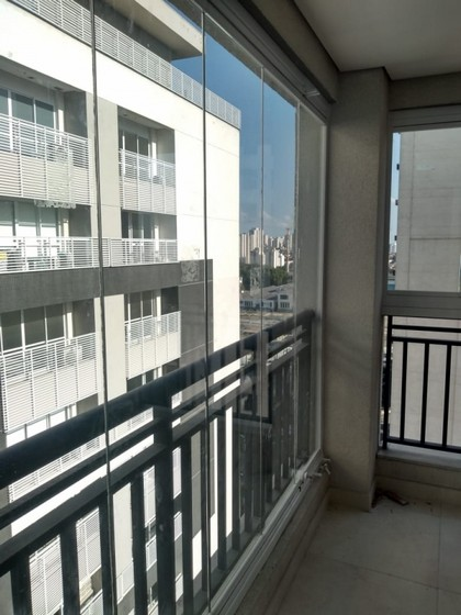 Orçamento para Envidraçamento de Sacada de Apartamento Pequeno São Bernardo do Campo - Envidraçamento de Sacada Pequena