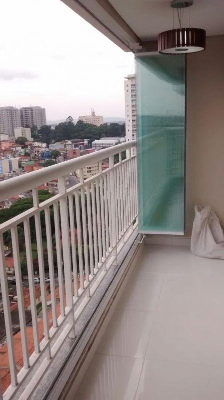 Quanto Custa Fechamento de Sacadas com Vidro em São Caetano do Sul - Envidraçamento de Sacadas