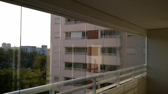 Quanto Custa Fechamento de Varanda com Vidro de Correr Saúde - Fechamento de Varanda com Vidro Temperado para Apartamento