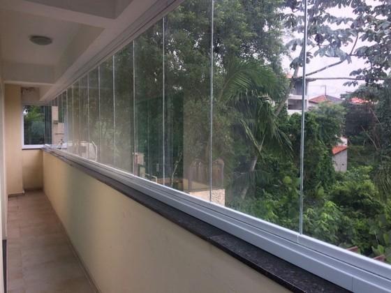 Quanto Custa Fechamento de Varanda com Vidro Residencial São Caetano do Sul - Fechamento de Varanda com Vidro para Apartamento