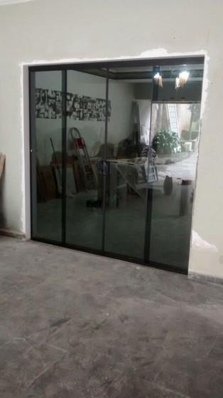Sacada de Vidro Fumê São Caetano do Sul - Sacada de Vidro para Apartamento