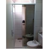 box vidro banheiro sob encomenda Vila Gilda