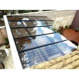 coberturas de vidro quintal Morumbi