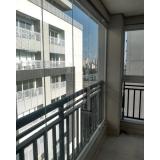 colocação de cortina de vidro área gourmet Jabaquara