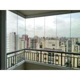cortina de vidro de varanda preço Moema