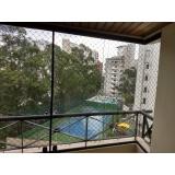 cortina de vidro para área externa preço Santo André