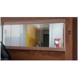 cortina de vidro para janela preço Campo Belo