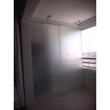 cortina de vidro para porta Vila Mariana