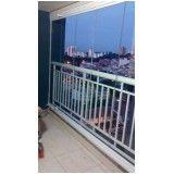 cortina de vidro para varanda em Santo André