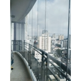 cortinas de vidro de varanda Ipiranga