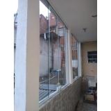 cortinas de vidro para área externa Vila Nova Conceição