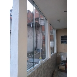 cortinas de vidro para área externa Ipiranga