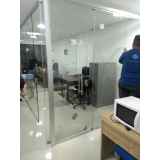 cortinas de vidro para porta Saúde