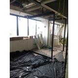 cortinas de vidro porta Cursino