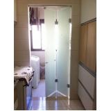 divisória de vidro para banheiro sob encomenda Nova Petrópolis