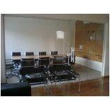 divisórias de vidro para escritórios preço em São Bernardo do Campo