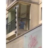 empresa de cortina de vidro para apartamento localização Vila Mariana