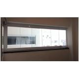 empresa de cortina de vidro para janela localização Itaim